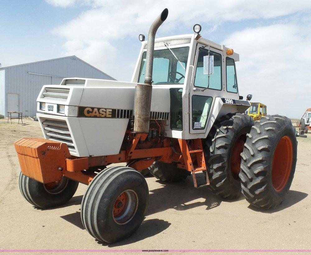 medium resolution of j6176 image for item j6176 1980 case 2590 tractor