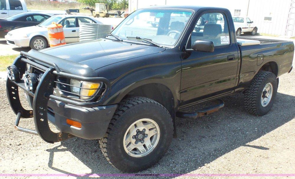 medium resolution of k4600 image for item k4600 1996 toyota tacoma pickup truck