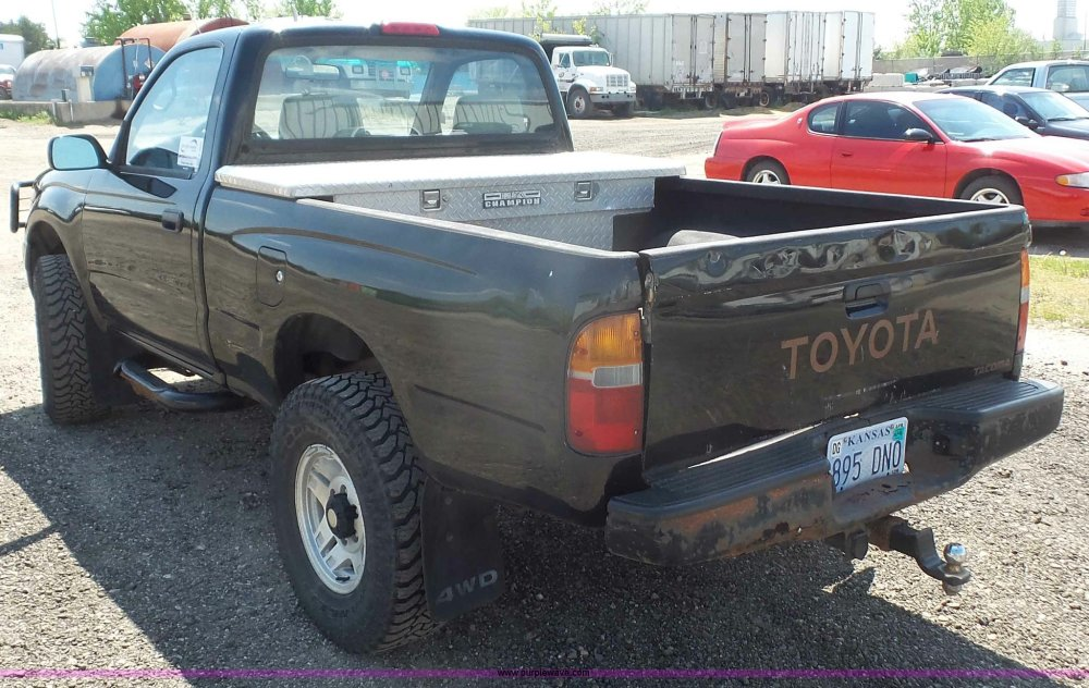medium resolution of  1996 toyota tacoma pickup truck full size in new window