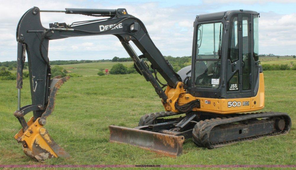 medium resolution of 2011 john deere 50d mini excavator item k8903 sold may rh purplewave com john deere 5058e john deere 5075e