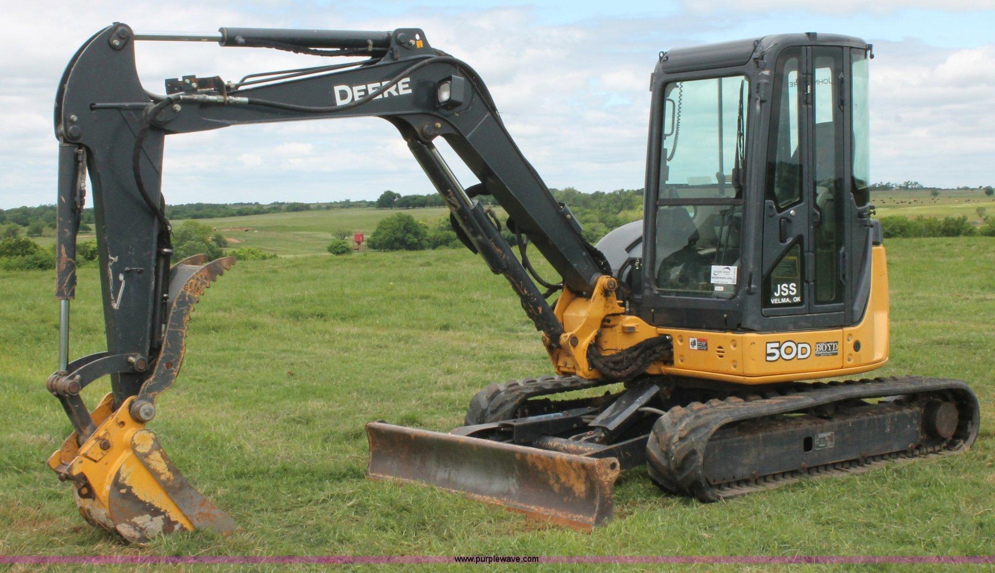 hight resolution of 2011 john deere 50d mini excavator item k8903 sold may rh purplewave com john deere 5058e john deere 5075e