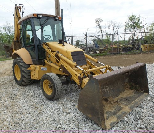 small resolution of l6055 image for item l6055 ford 555 backhoe