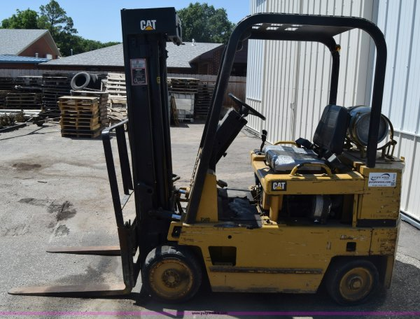 Caterpillar T50d Forklift Engine - Year of Clean Water