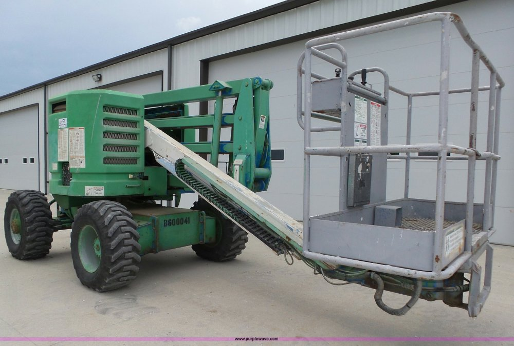 medium resolution of k8425 image for item k8425 1996 genie z45 22 boom lift