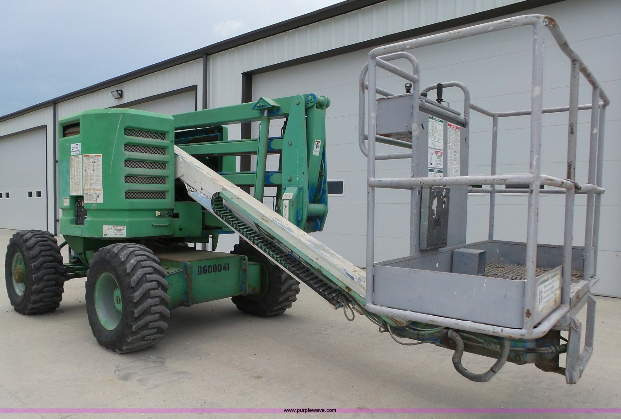 hight resolution of k8425 image for item k8425 1996 genie z45 22 boom lift