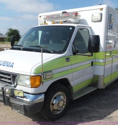by9545 image for item by9545 2005 ford e450 ambulance [ 2048 x 1517 Pixel ]