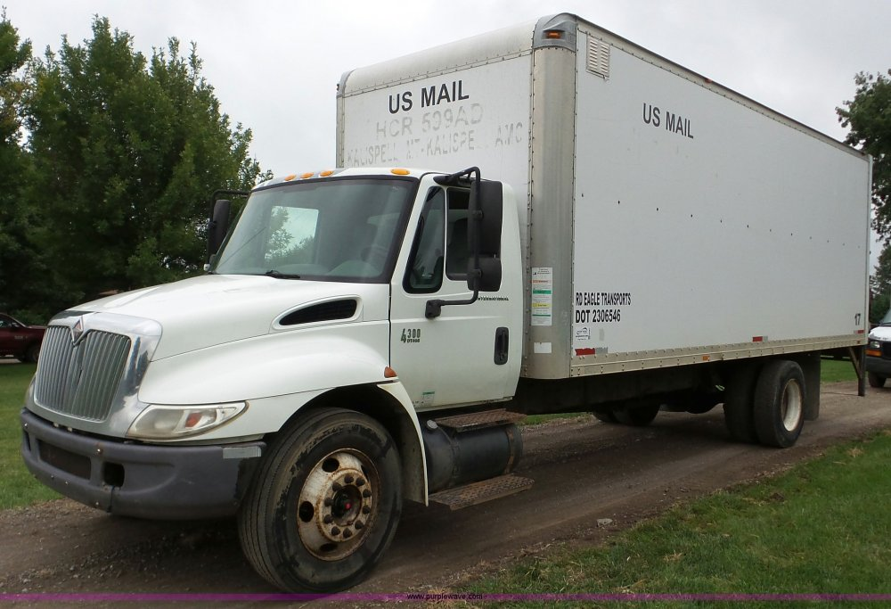medium resolution of da2867 image for item da2867 2002 international 4300 box truck