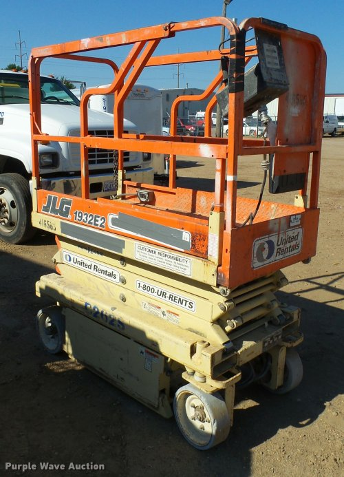 small resolution of  wiring diagram on jlg 1932e2 scissor lift item al9132 sold september 29 c
