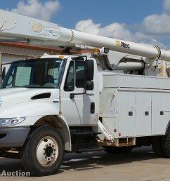 db4535 image for item db4535 2010 international durastar 4300 bucket truck [ 2048 x 1346 Pixel ]