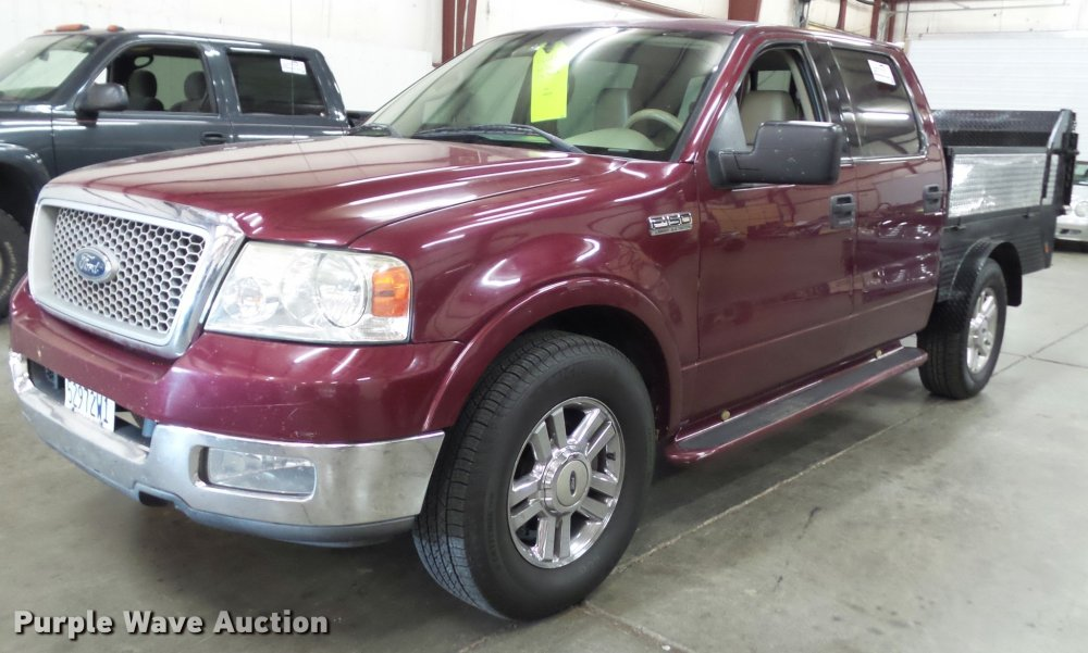 medium resolution of k8183 image for item k8183 2004 ford f150 lariat supercrew flatbed pickup truck