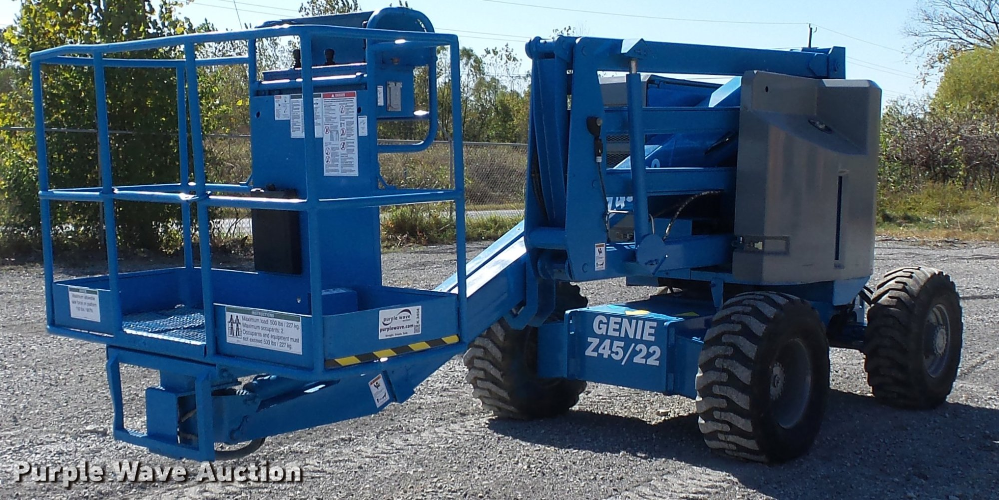 hight resolution of k3454 image for item k3454 1998 genie z45 22 boom lift