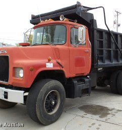 da2926 image for item da2926 1984 mack dm685s dump truck [ 2048 x 1406 Pixel ]