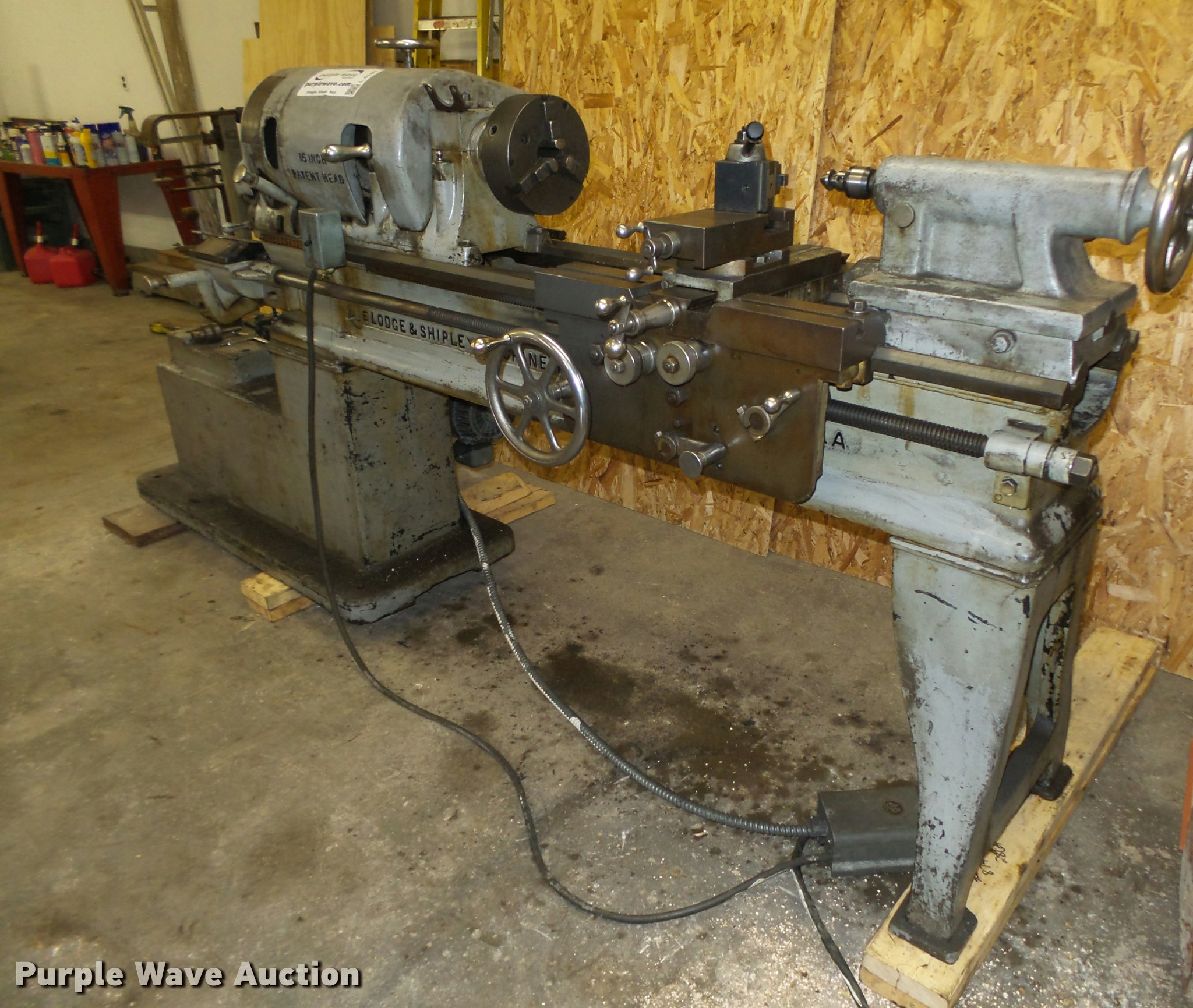 Lodge And Shipley Lathe For Sale