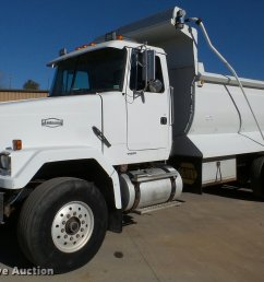 db5273 image for item db5273 1996 volvo acl dump truck [ 2048 x 1457 Pixel ]