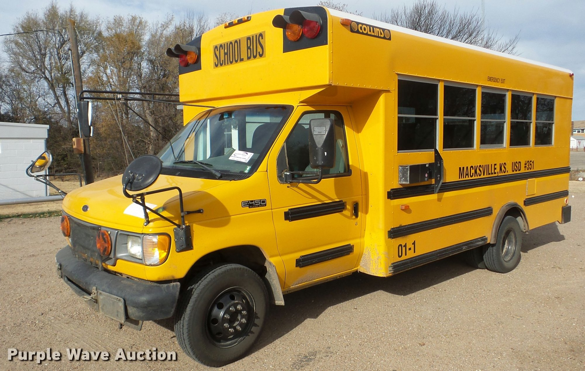 hight resolution of ford econoline e450 school bus full size in new window