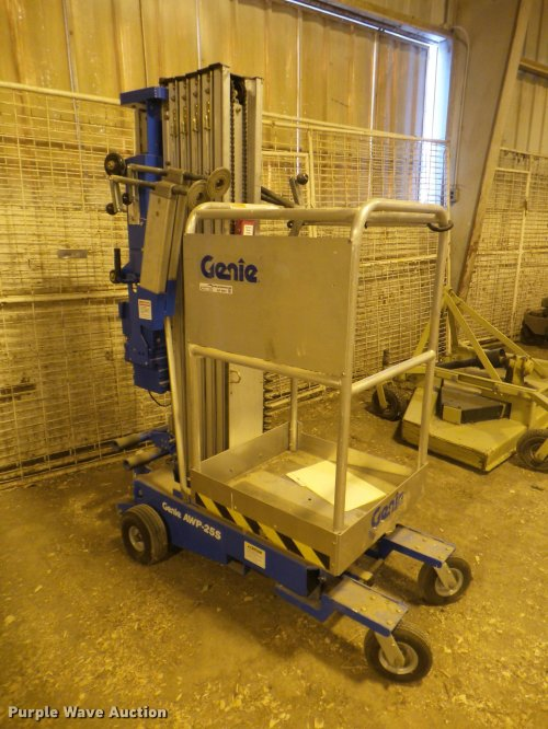 small resolution of 1999 genie awp 25s man lift for sale in kansas