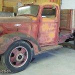1938 Chevrolet Master Tb Grain Truck In Lawrence Ks Item Bu9168 Sold Purple Wave