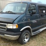 1997 Dodge Ram Van 2500 Van In Clinton Mo Item Da5812 Sold Purple Wave