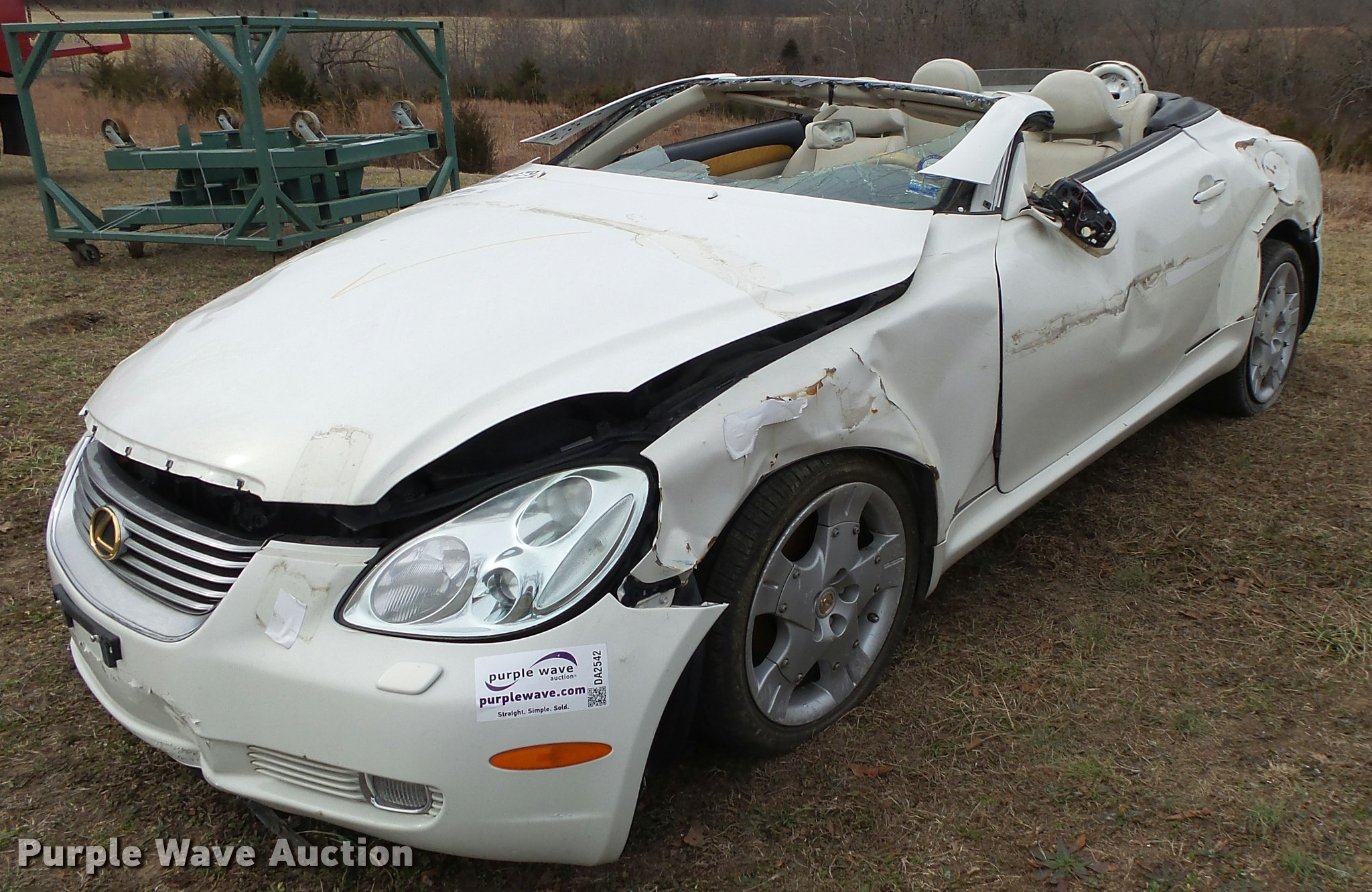 2004 Lexus SC430 convertible Item DA2542