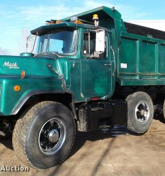 da7354 image for item da7354 1989 mack dm688s dump truck [ 2048 x 1333 Pixel ]