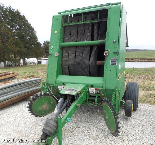 small resolution of 1995 john deere 435 round baler for sale in missouri