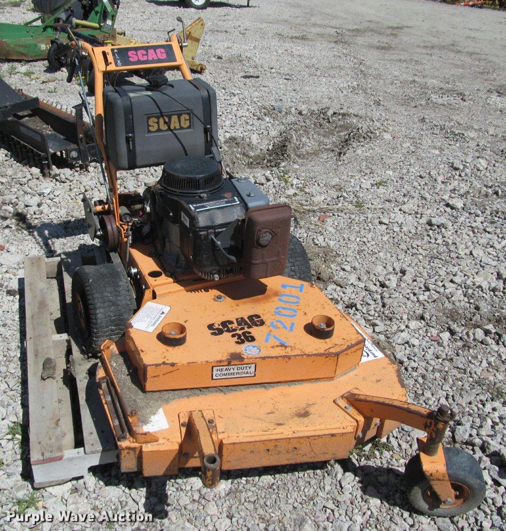 medium resolution of  wiring diagram scag sw36 13ka lawn mower item k3859 sold may 23 sharpe