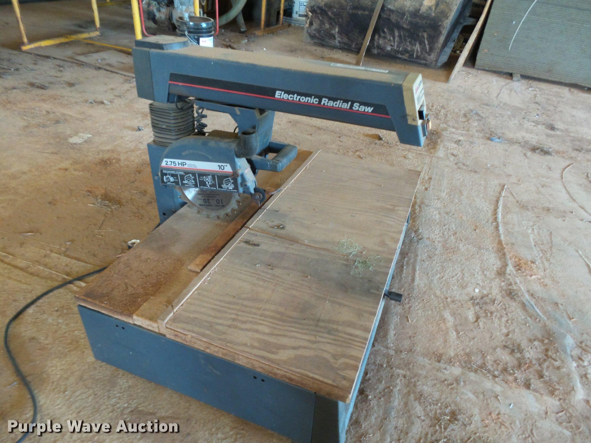 Craftsman 10 Radial Arm Saw 275 Hp