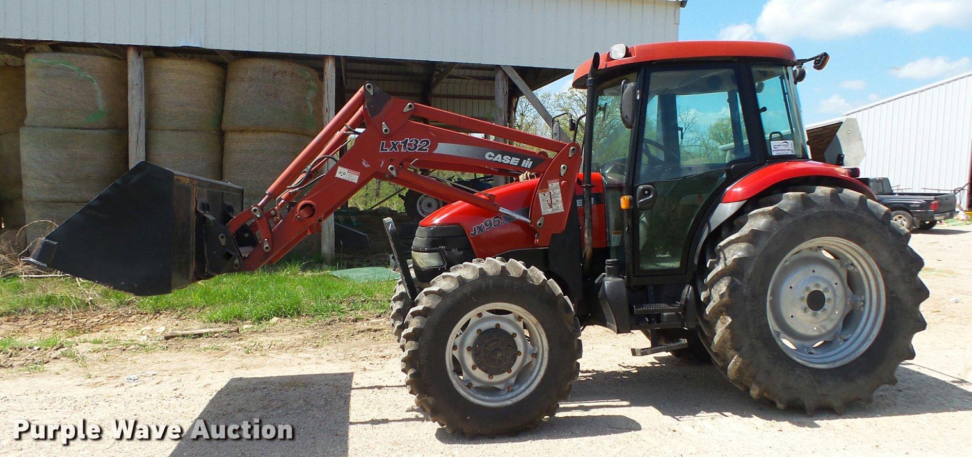 hight resolution of  2004 case ih jx95 mfwd tractor item da2671 sold may 31 case ih jx65 wiring schematic