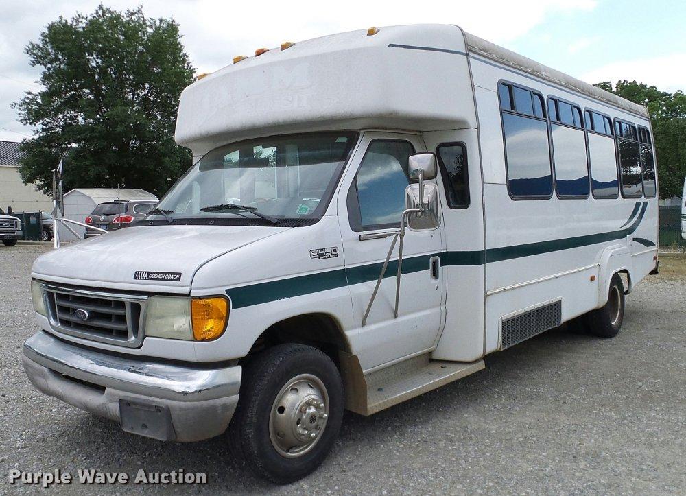 medium resolution of da6186 image for item da6186 2004 ford econoline e450 shuttle bus