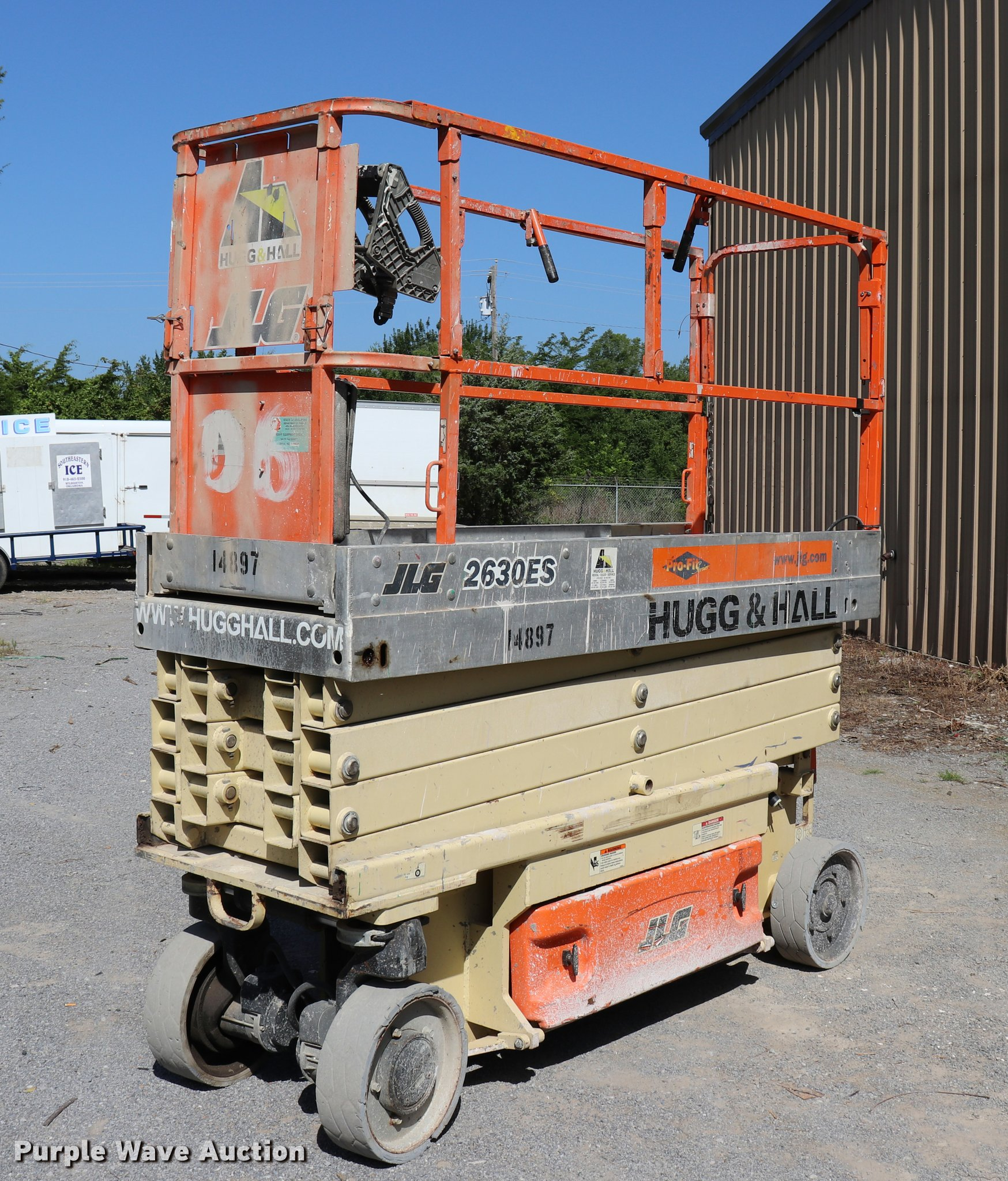 hight resolution of 2006 jlg 2630es scissor lift for sale in oklahoma
