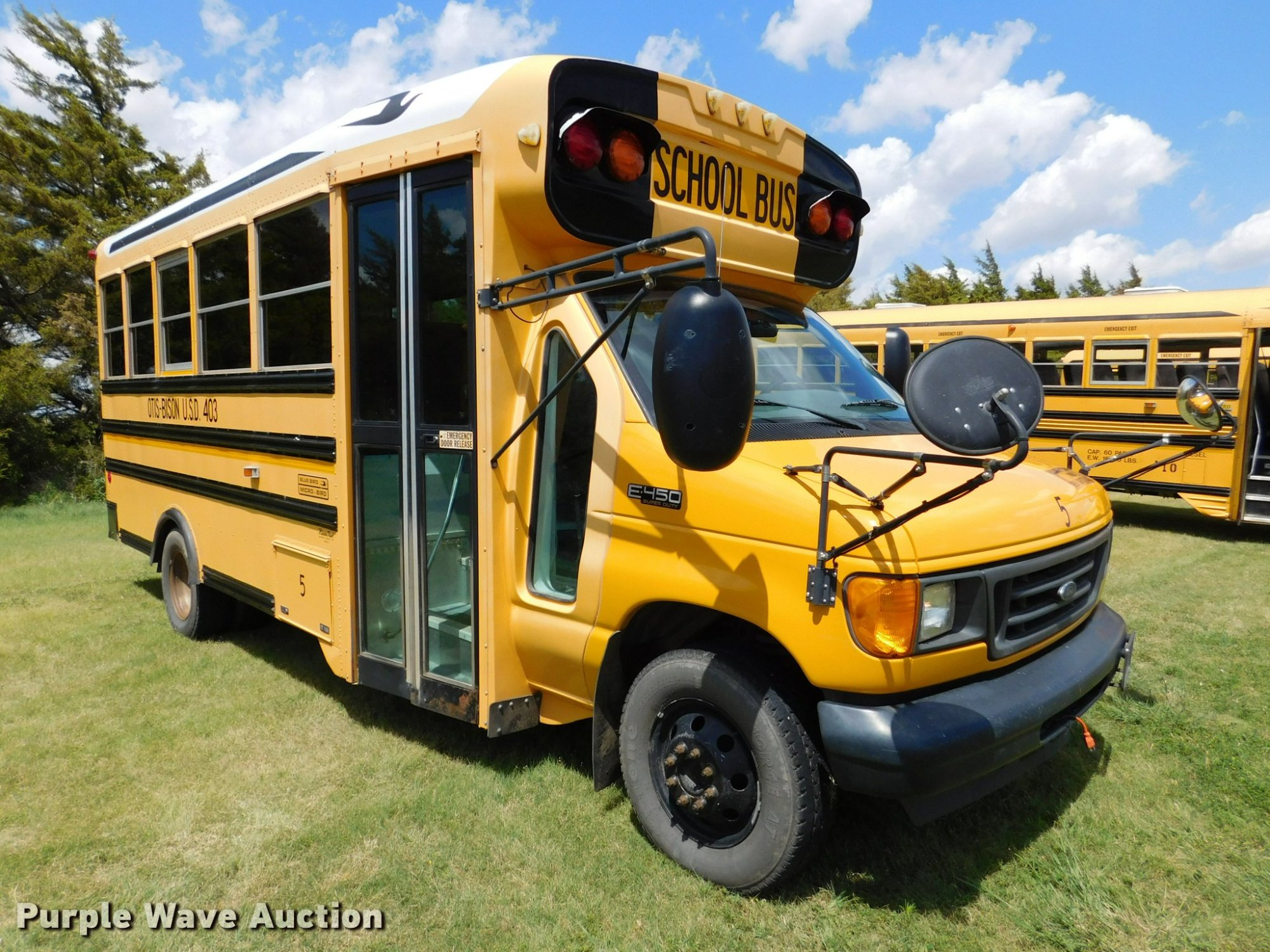 hight resolution of  e450 blue bird school bus full size in new window