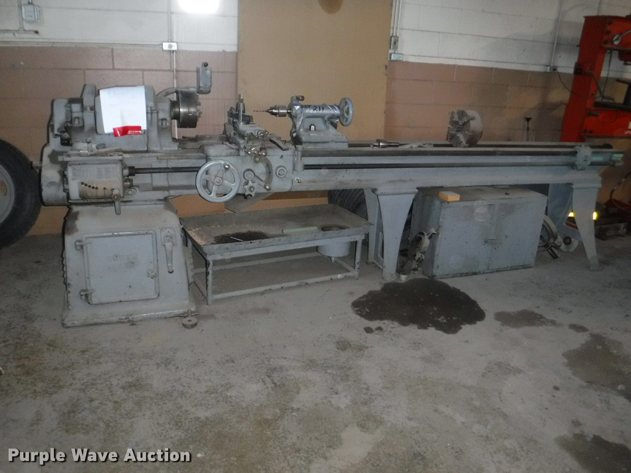 South Bend Metal Lathe For Sale