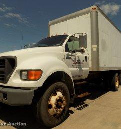da3067 image for item da3067 2000 ford f650 super duty xl box truck [ 2048 x 1536 Pixel ]