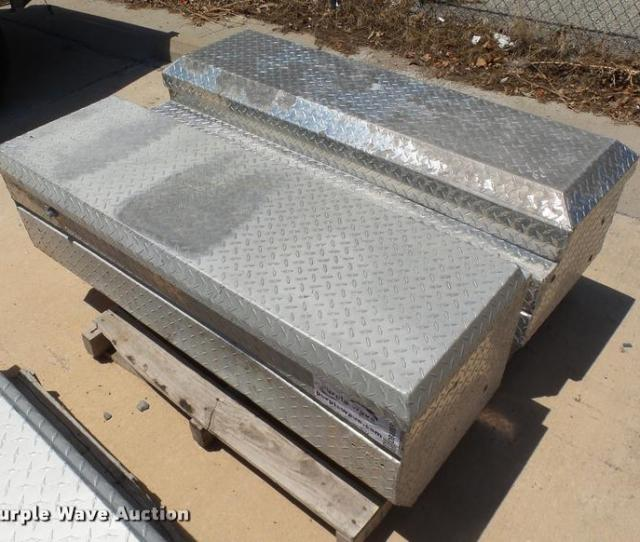 Db4086 Image For Item Db4086 2 Aluminum Diamond Plate Toolboxes