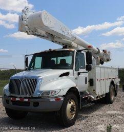 dk9558 image for item dk9558 2007 international durastar 4300 bucket truck [ 2048 x 1988 Pixel ]