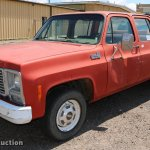1980 Chevrolet Custom Deluxe 20 Crew Cab Pickup Truck In Atwood Ks Item Db9270 Sold Purple Wave