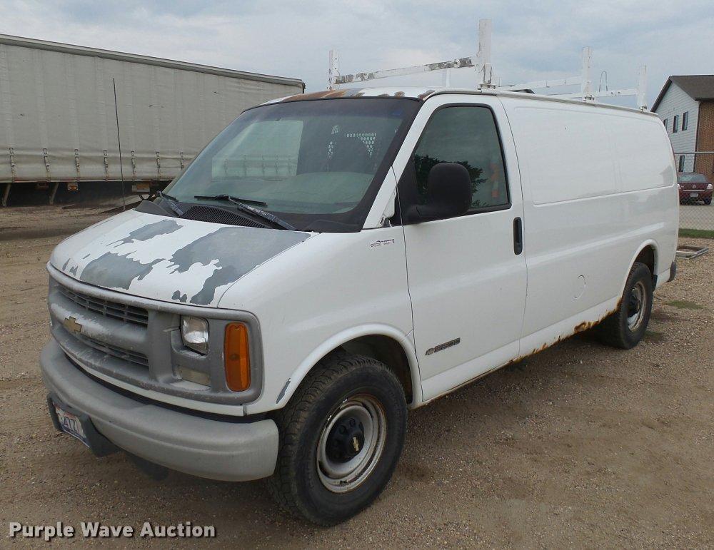medium resolution of 2000 chevrolet express 2500 cargo van for sale in south dakota