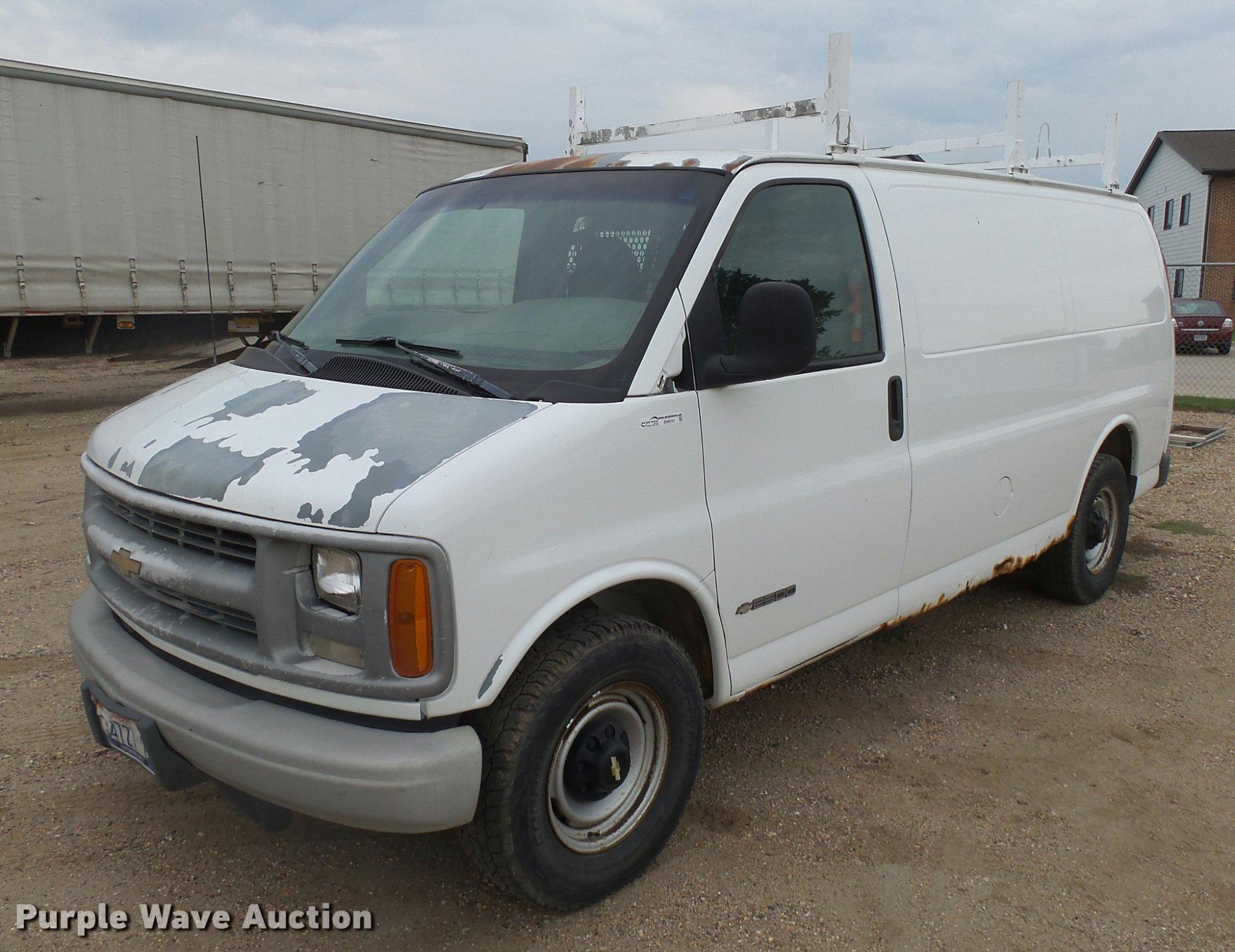 hight resolution of 2000 chevrolet express 2500 cargo van for sale in south dakota