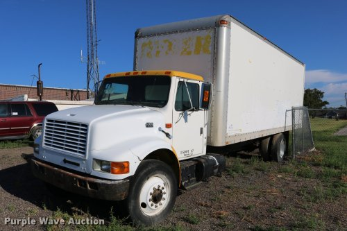 small resolution of dd0210 image for item dd0210 1992 international 4900 box truck