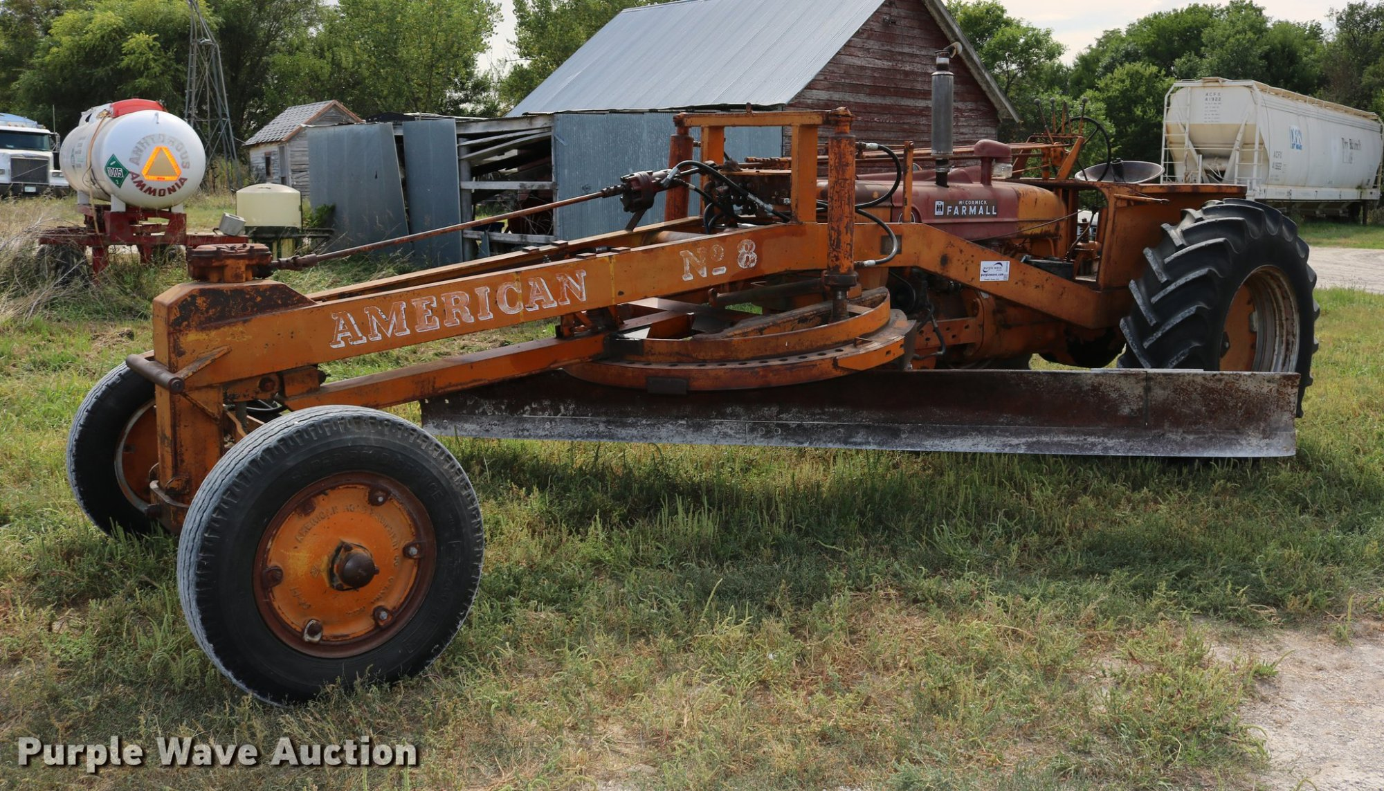 hight resolution of 1948 mccormick farmall m tractor for sale in kansas