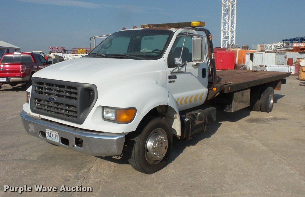 medium resolution of da3119 image for item da3119 2001 ford f650 super duty tow truck truck