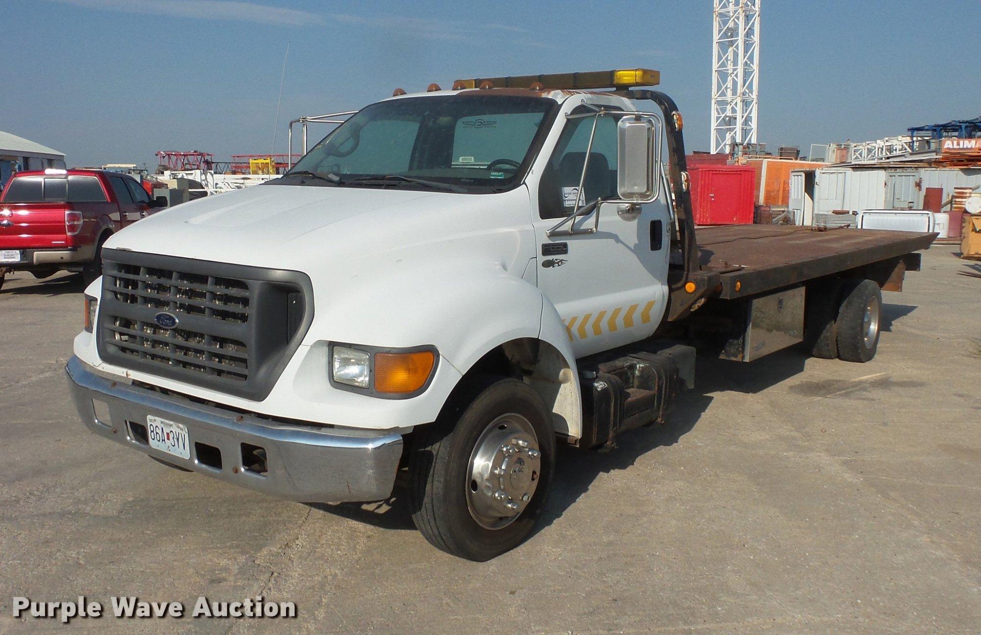 hight resolution of da3119 image for item da3119 2001 ford f650 super duty tow truck truck