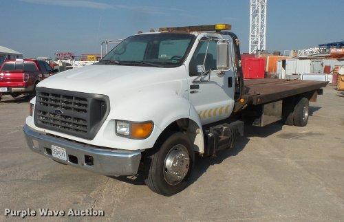 small resolution of da3119 image for item da3119 2001 ford f650 super duty tow truck truck