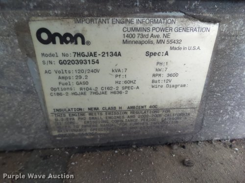 small resolution of  onan cmm 7000 generator full size in new window