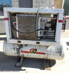 1999 gardner denver eba99a air compressor for sale in missouri [ 2048 x 1922 Pixel ]