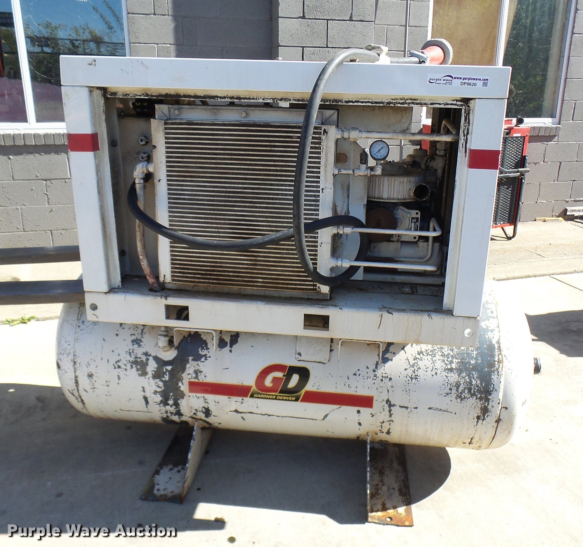 hight resolution of 1999 gardner denver eba99a air compressor for sale in missouri