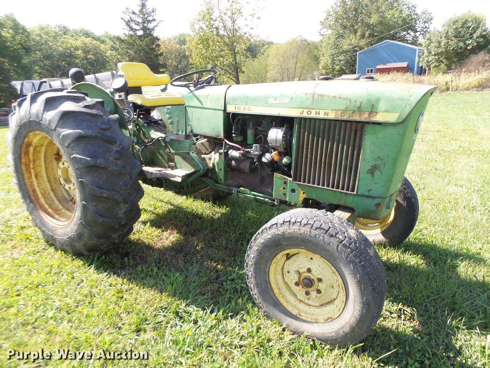 medium resolution of john deere 1520 tractor item dt9974 sold november 8 veh