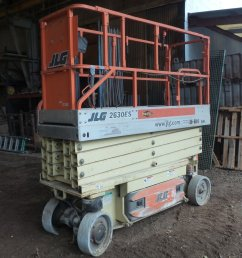 db6384 image for item db6384 2005 jlg 2630es scissor lift [ 1689 x 2048 Pixel ]