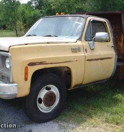 ca9610 image for item ca9610 1978 chevrolet scottsdale c20 dump bed pickup truck [ 2048 x 1174 Pixel ]