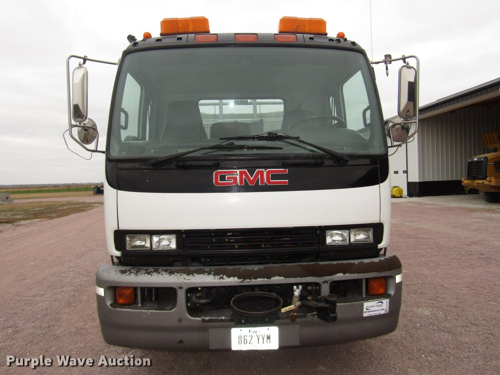 medium resolution of  gmc t7500 dump truck full size in new window
